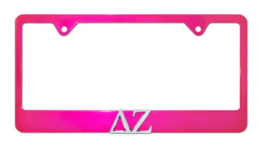 DZ Pink License Plate Frame