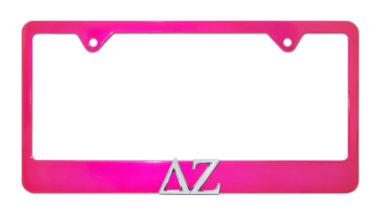 DZ Pink License Plate Frame