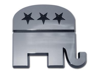 Republican Chrome Emblem
