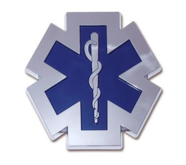 EMS Chrome Emblem
