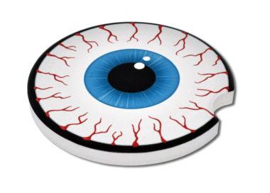 Eyeball Car Coaster - 2 Pack