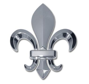 Fleur-de-Lis Chrome Emblem image