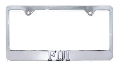 FIJI Chrome License Plate Frame