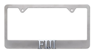 FIJI Matte License Plate Frame