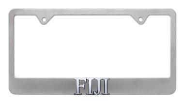 FIJI Matte License Plate Frame