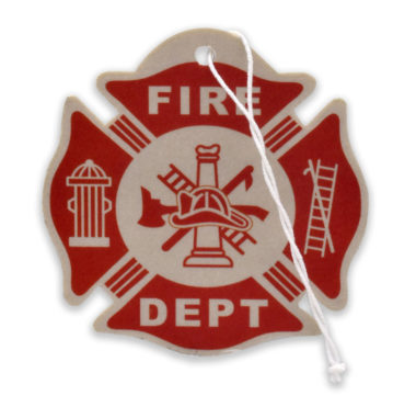 Firefighter Air Freshener 6 Pack