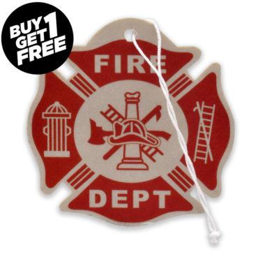 Firefighter Air Freshener 6 Pack