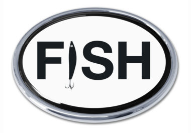 Fish Chrome Emblem
