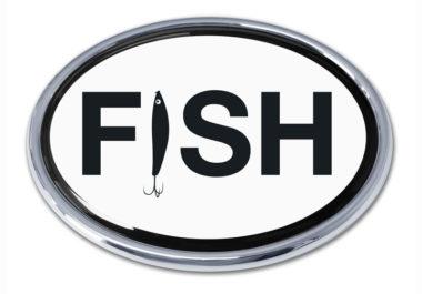 Fish Chrome Emblem