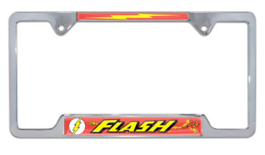 The Flash Open License Plate Frame