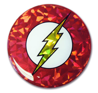 The Flash 3D Reflective Decal