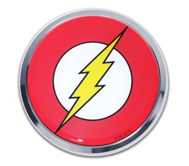 The Flash Chrome Emblem