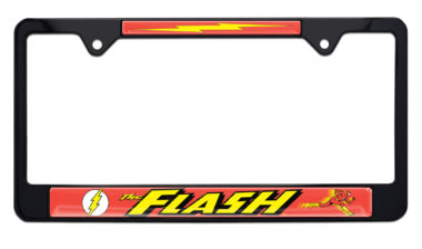 The Flash Black License Plate Frame
