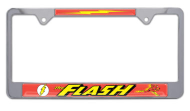The Flash License Plate Frame