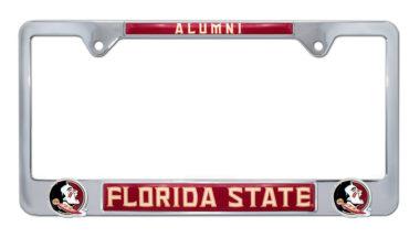 Florida State Alumni 3D License Plate Frame