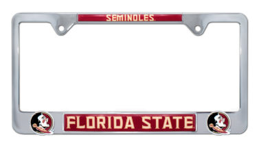 Florida State Seminoles 3D License Plate Frame