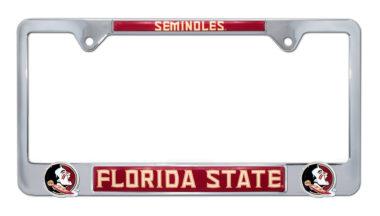 Florida State Seminoles 3D License Plate Frame image