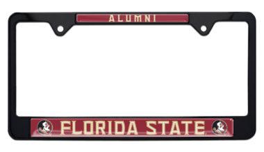 Florida State Alumni Black License Plate Frame