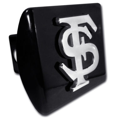 Florida State Emblem on Black Hitch Cover