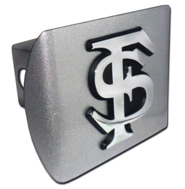 Florida State Emblem on Brushed Hitch Cover