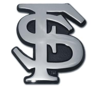 Florida State Chrome Emblem