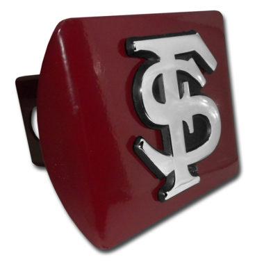 Florida State Emblem on Garnet Hitch Cover