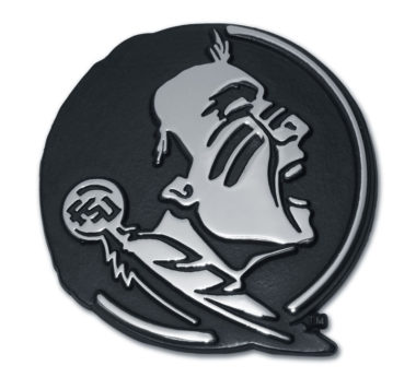Florida State Seminole Chrome Emblem