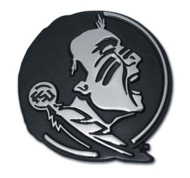 Florida State Seminole Chrome Emblem