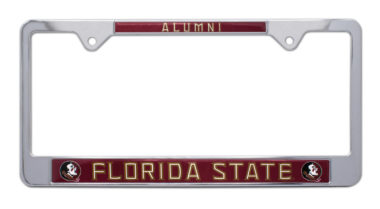 Florida State Alumni License Plate Frame