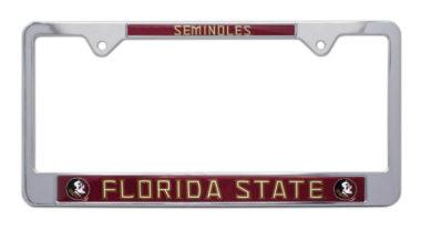 Florida State Seminoles License Plate Frame image