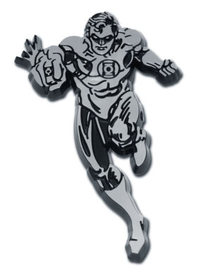 Green Lantern Figurine Chrome Emblem image