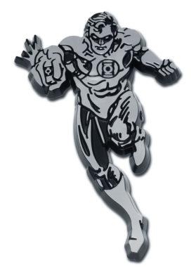 Green Lantern Figurine Chrome Emblem