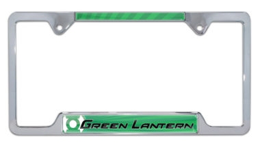 Green Lantern Open License Plate Frame image