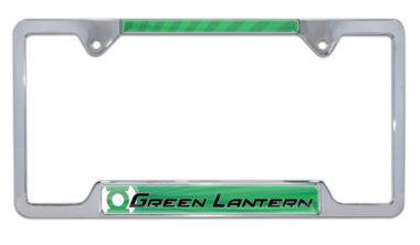 Green Lantern Open License Plate Frame