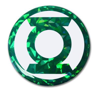 Green Lantern 3D Reflective Decal image