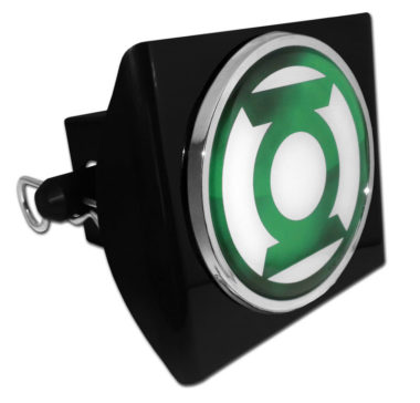 Green Lantern on Plastic Hitch Cover