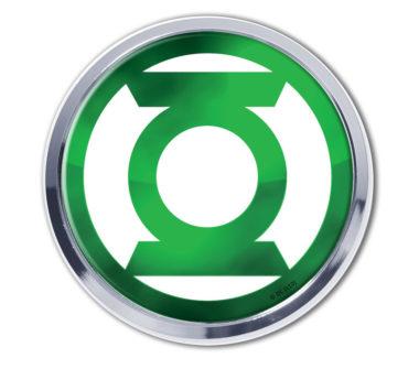 Green Lantern Chrome Emblem