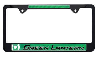Green Lantern Black License Plate Frame