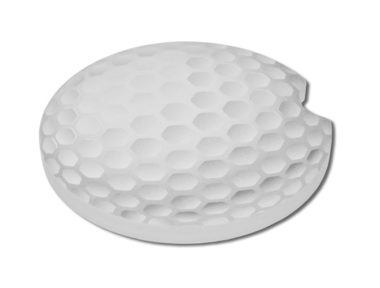 Golf ball Car Coaster - 2 Pack