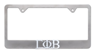 Gamma Phi Beta Matte License Plate Frame