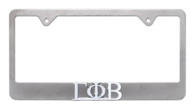 Gamma Phi Beta Matte License Plate Frame
