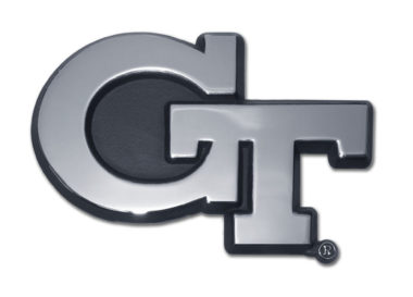 Georgia Tech Chrome Emblem