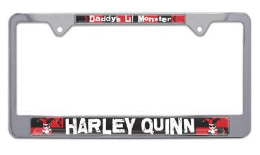 Harley Quinn License Plate Frame image