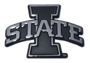 Iowa State Chrome Emblem