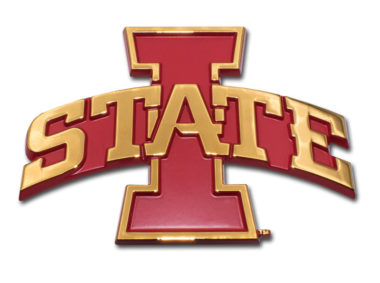 Iowa State Gold Plated Emblem