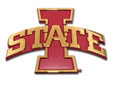 Iowa State Gold Plated Emblem