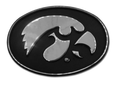 University of Iowa Chrome Emblem