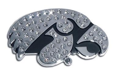 Iowa Crystal Chrome Emblem