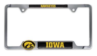Iowa Hawkeyes License Plate Frame image