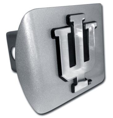 Indiana University Brushed Hitch Cover